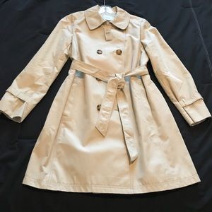 NWT Taupe trench coat from The Loft